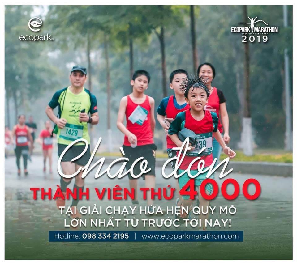 Giải chạy bộ Ecopark Marathon 2019 - Chạy giữa miền xanh