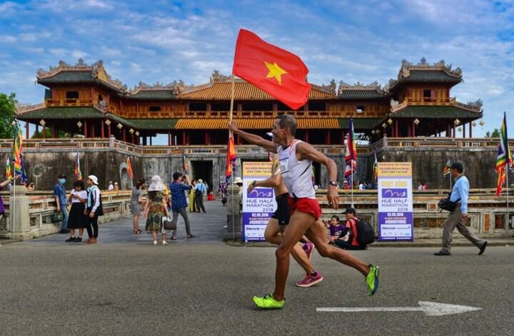 Huế khuấy động phong trào thể thao với giải chạy Hue Half Marathon